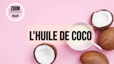 huile de coco naturelle zéro déchet