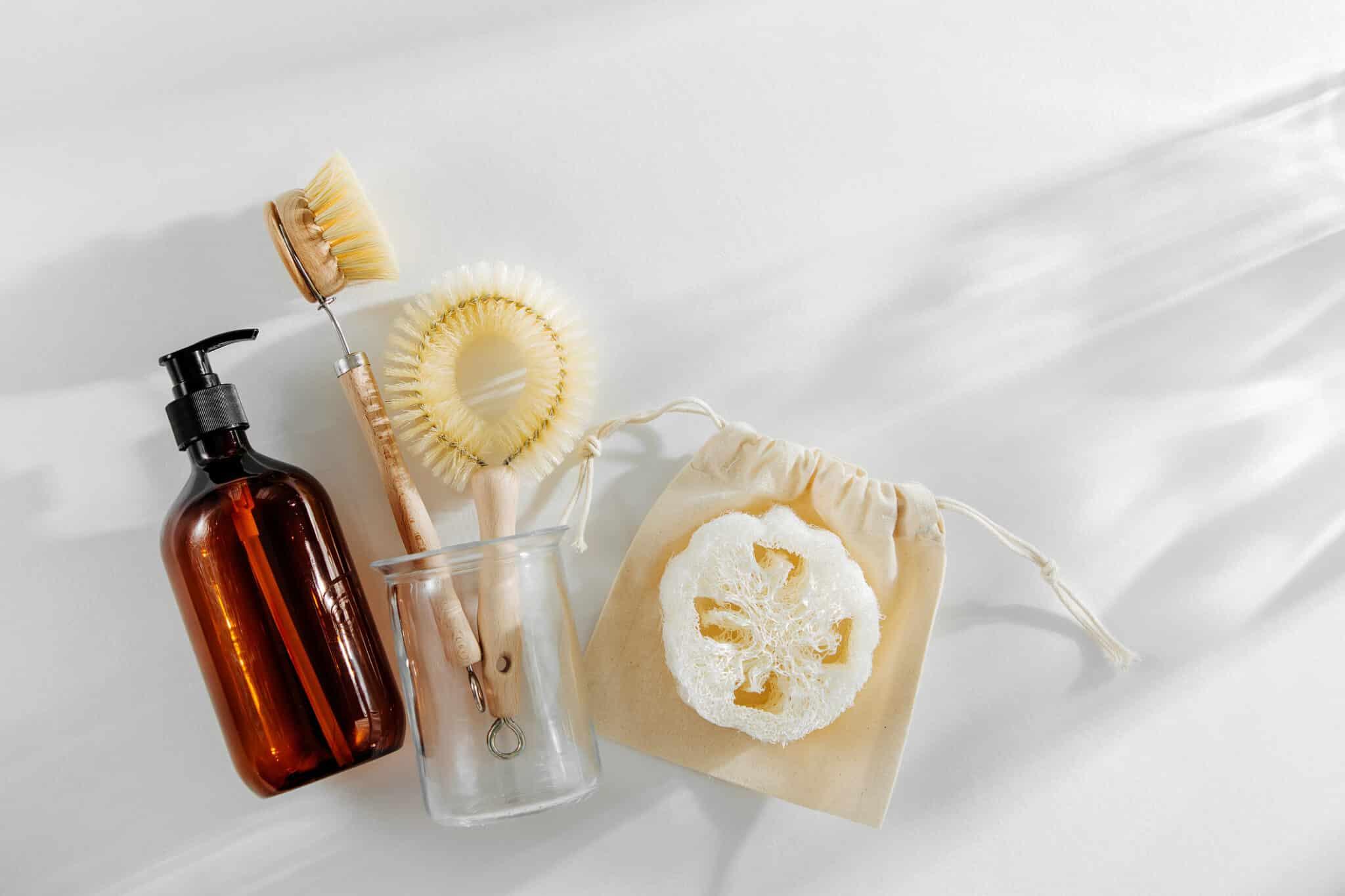 liquide vaisselle maison recette brosse flacon pompe