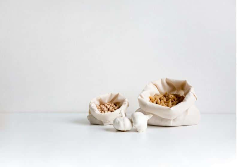 sacs à vrac pâtes ail zéro déchet