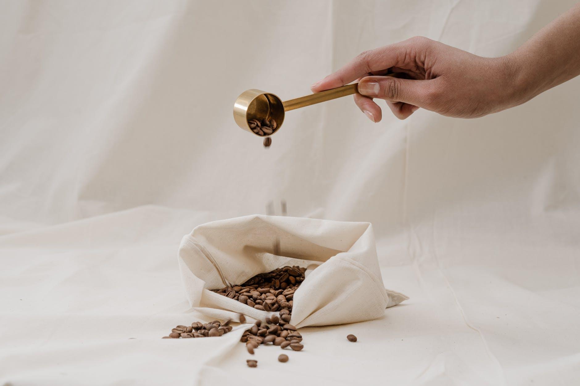achat sac vrac café en grains zéro déchet
