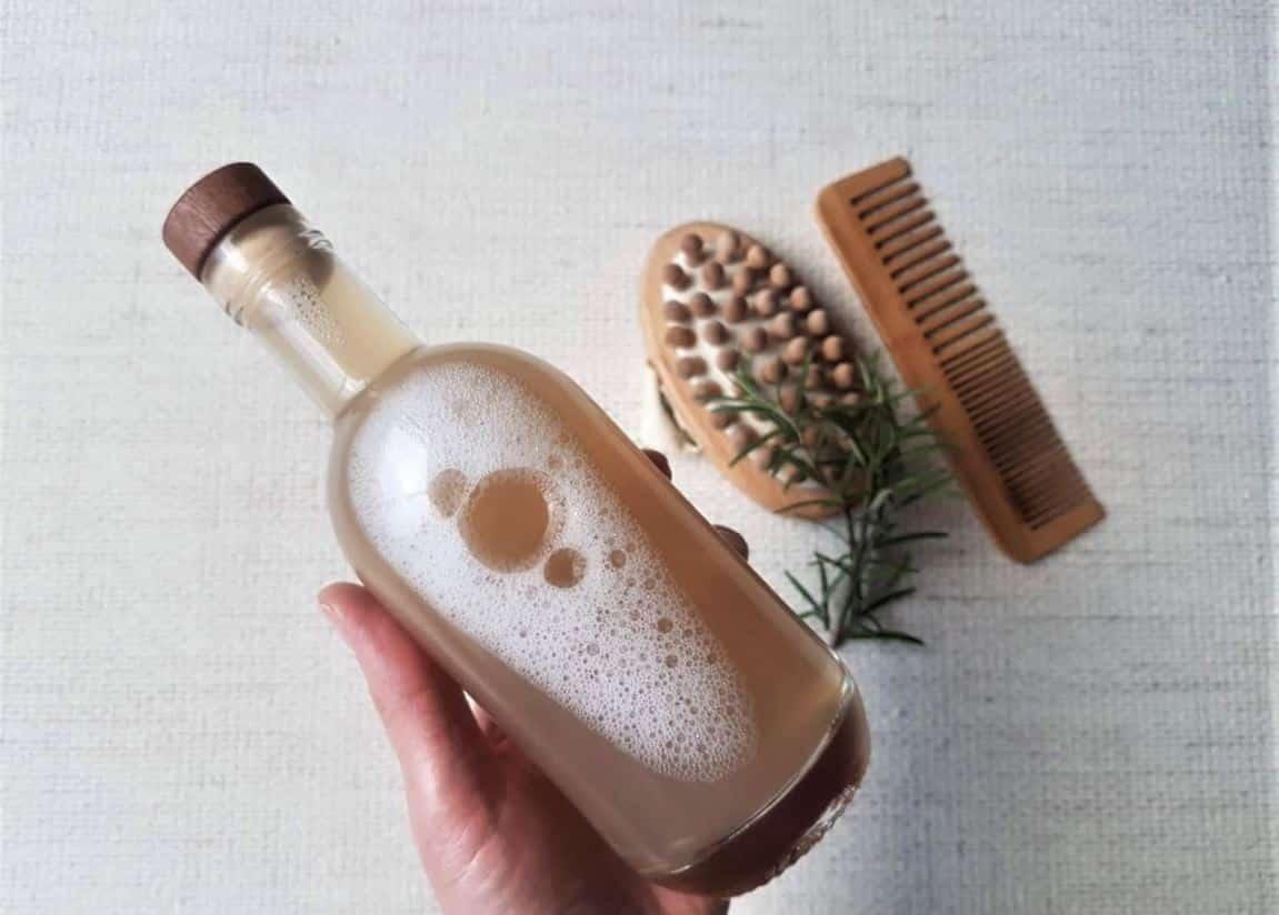 shampoing liquide romarin recette zéro déchet