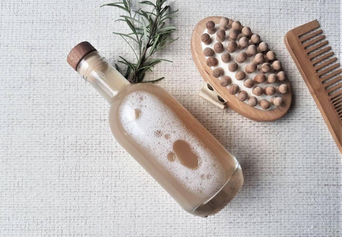 shampoing liquide naturel romarin recette zéro déchet