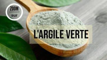 vertus argile verte poudre naturelle zéro déchet