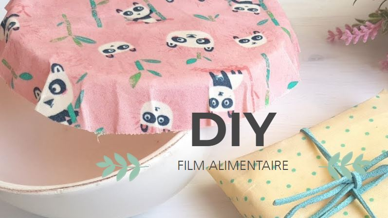 filmer ses plats avec du papier en tissu enduit de cire