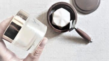 lotion après rasage aftershave effet glaçon cosmétique barbe homme