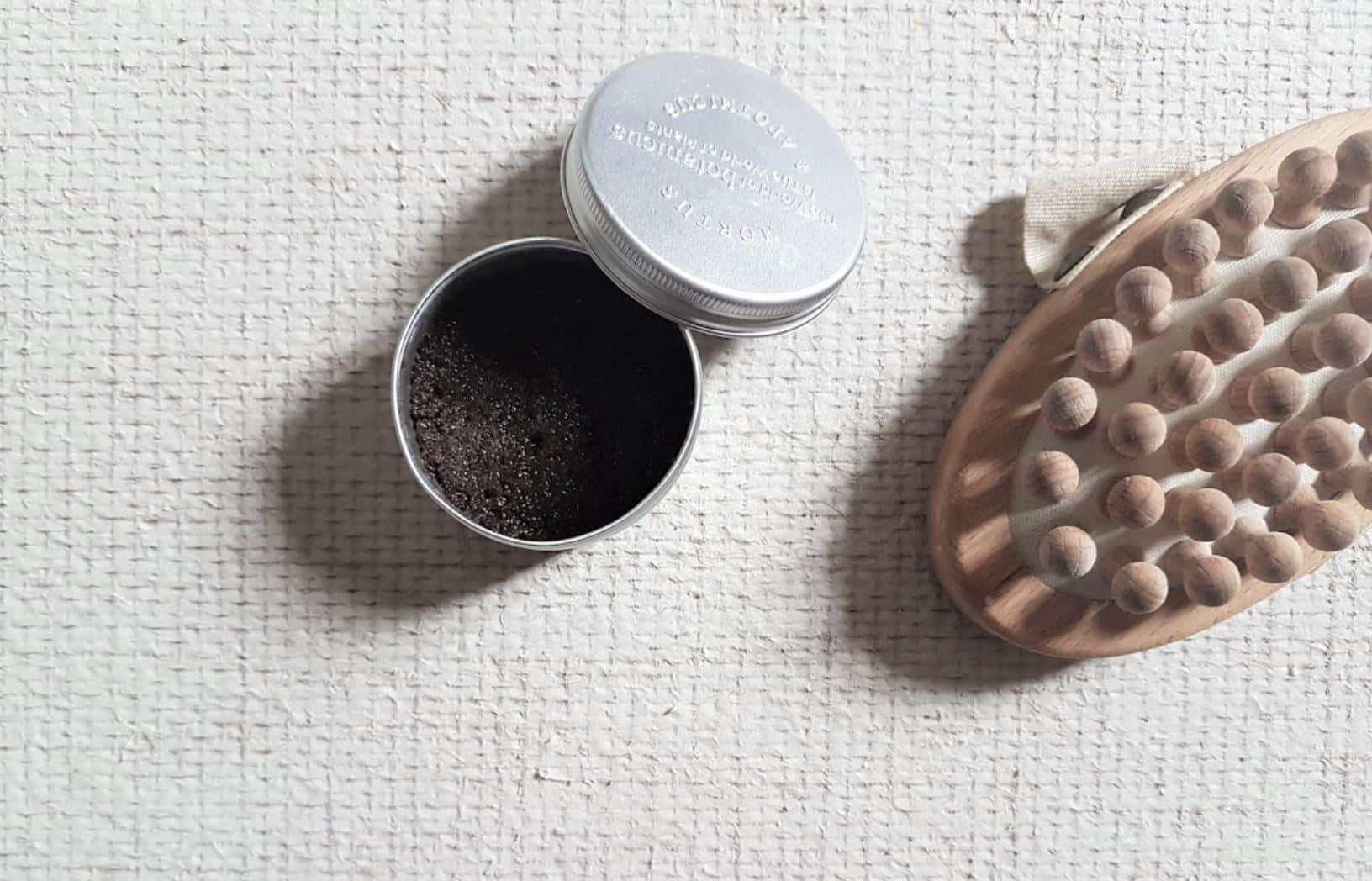 gommage café marc zéro déchet