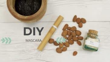 mascara zéro déchet naturel maison