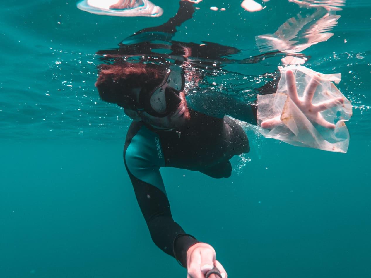 alternatives écologiques au plastique mer océan