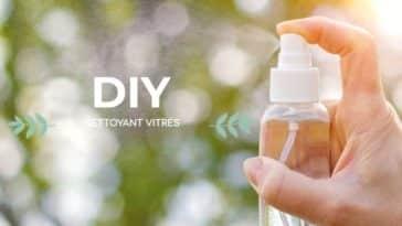 nettoyant pour vitres naturel et zéro déchet