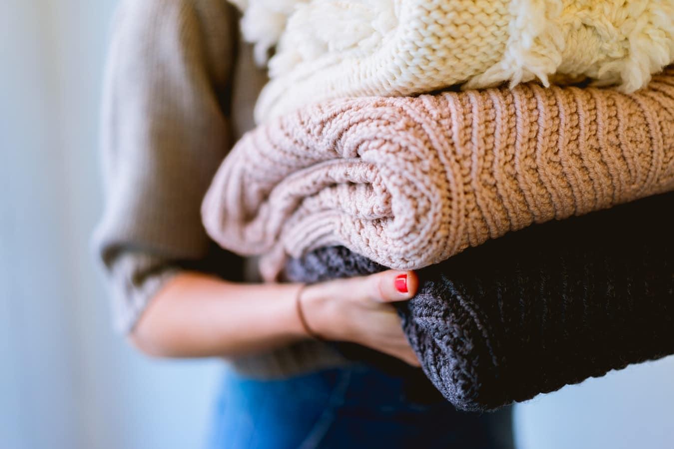 lessive maison zéro déchet linge pulls en laine