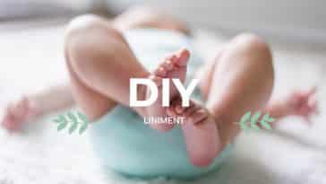 recette de liniment naturel maison zéro déchet bébé fesses couche