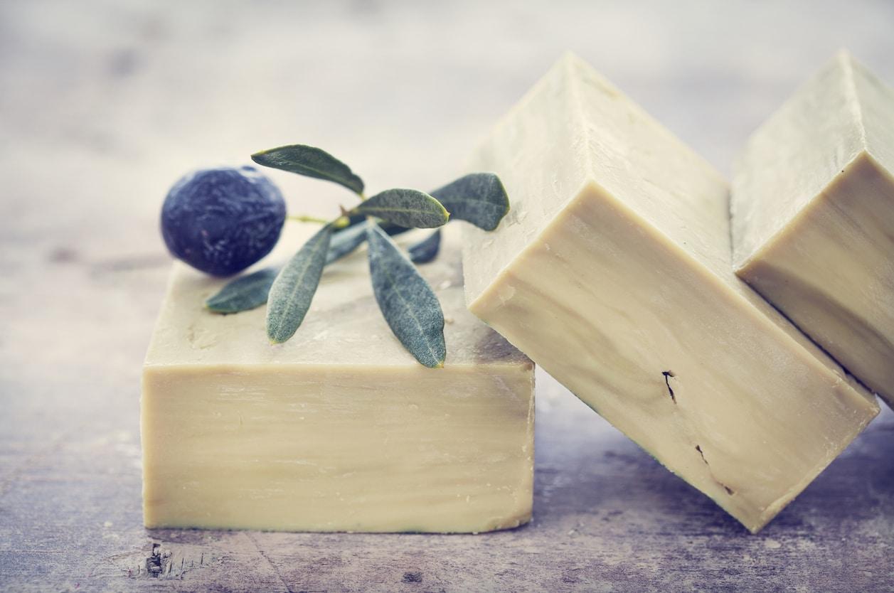savon de Marseille olive pains de savons