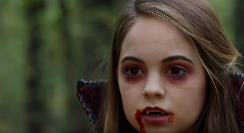 déguisement de vampire enfant costumes Halloween zéro déchet