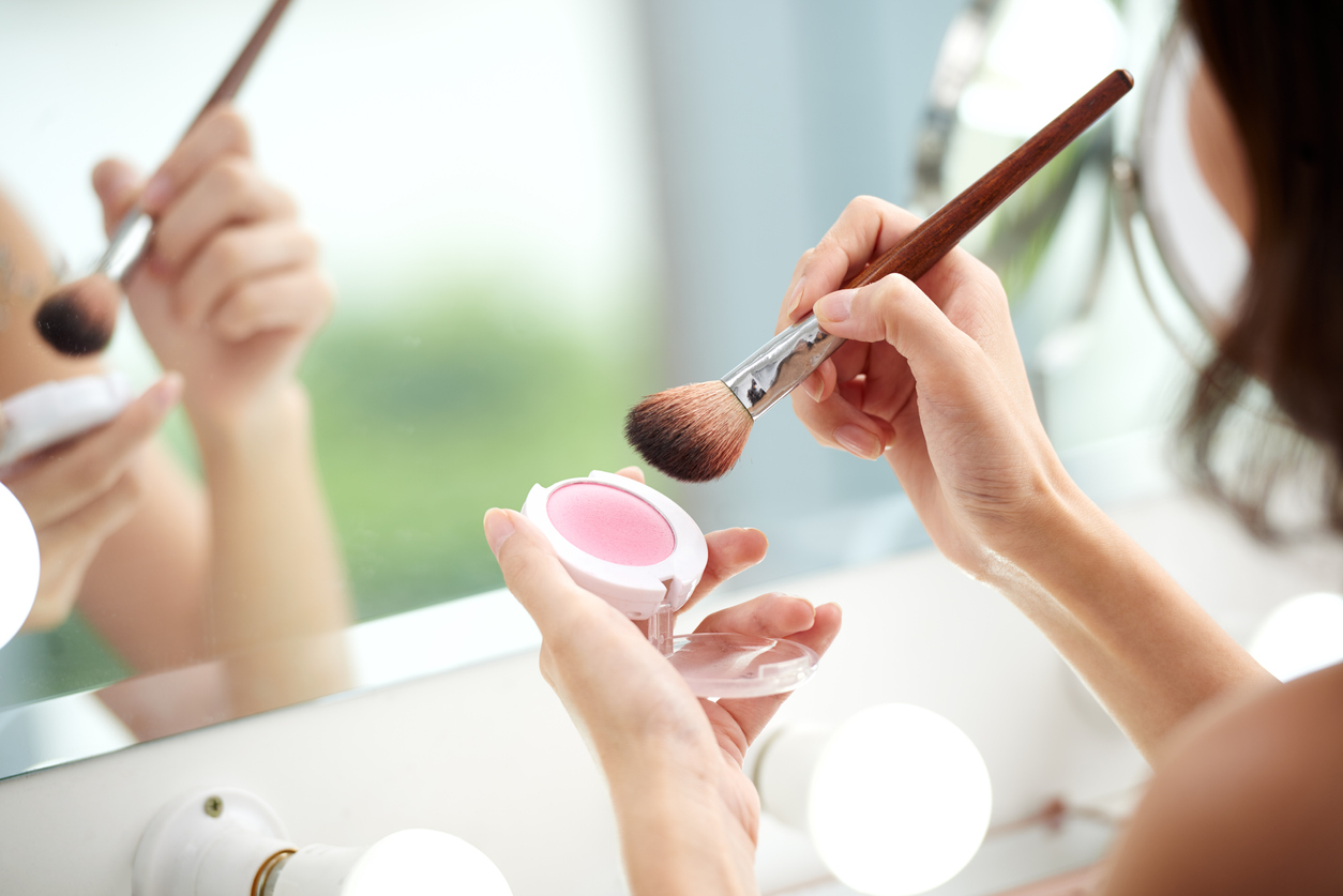 maquillage blush maison zéro déchet