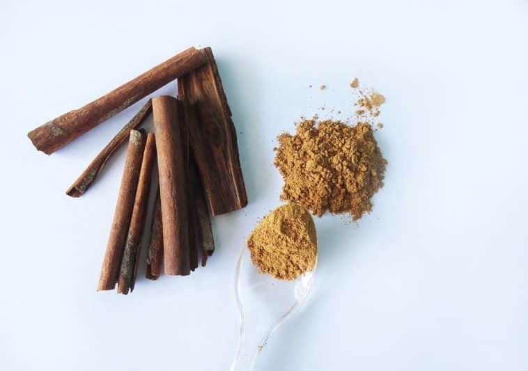 poudres épices cannelle maquillage ombre paupières zéro déchet