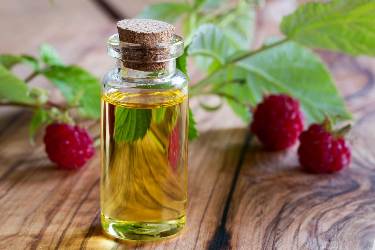 huile végétale de framboise france