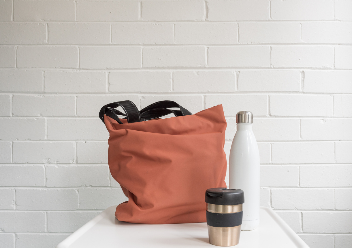sac gourde mug zéro déchet astuces sorties