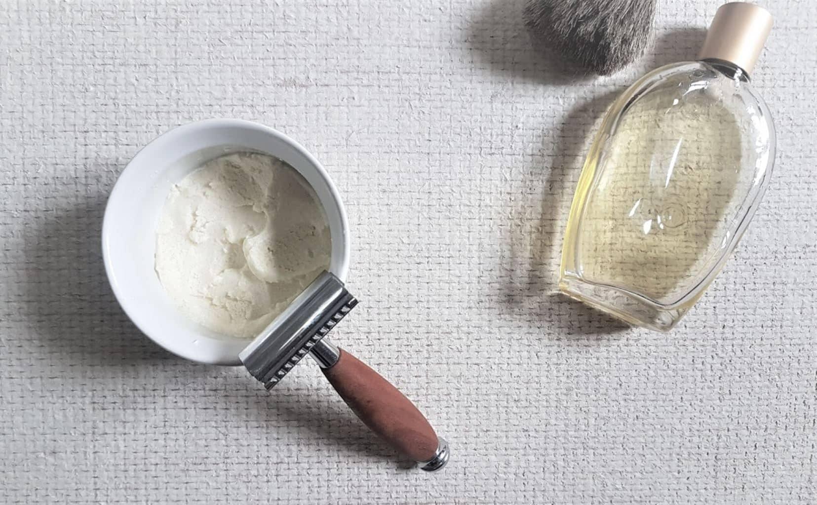 mousse à raser naturelle recette