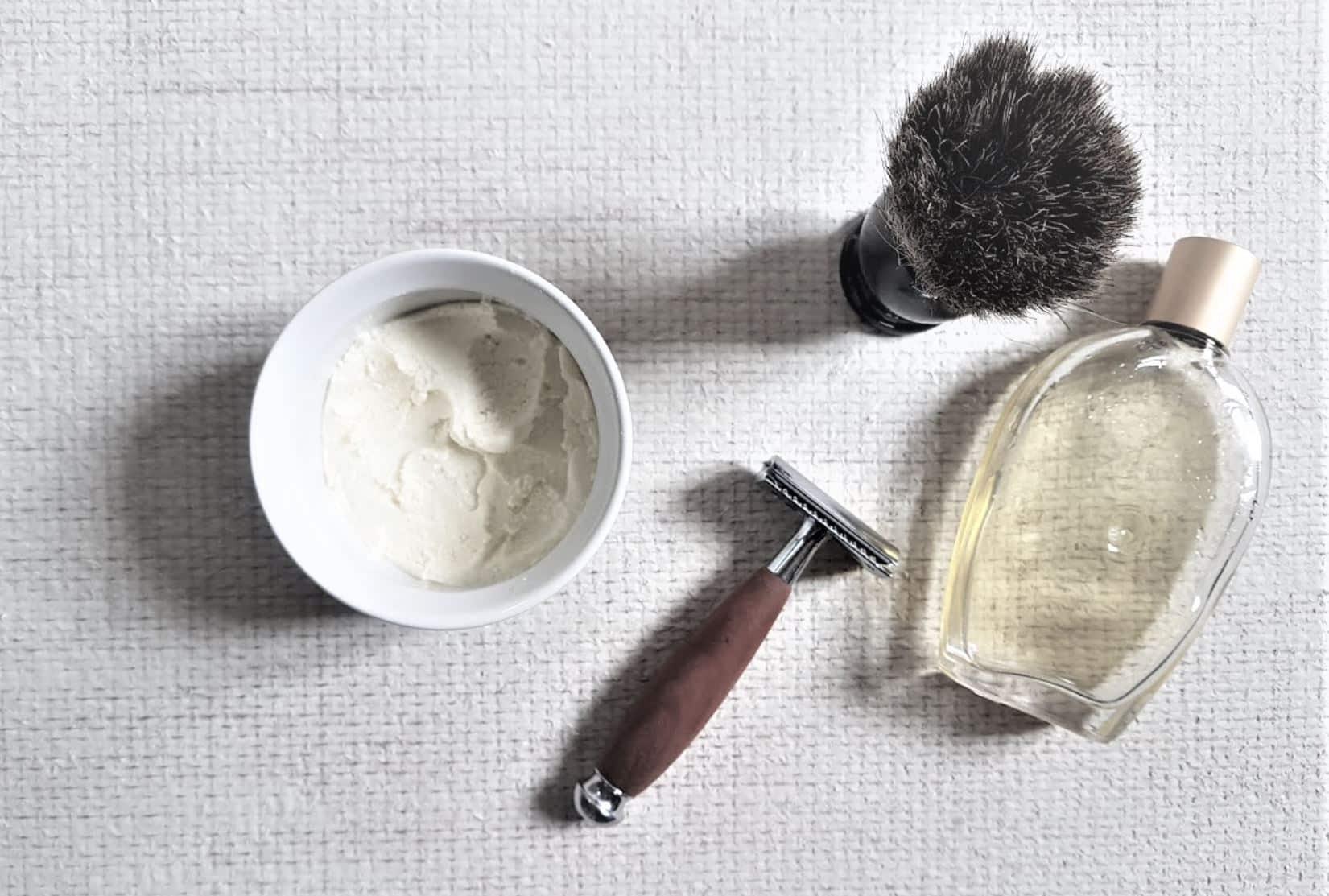 mousse baume a raser crème zéro déchet