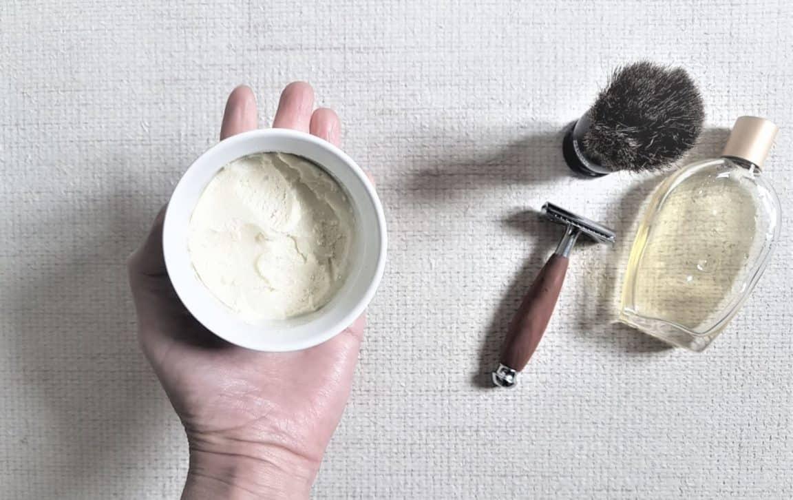 mousse à raser recette maison naturelle maison