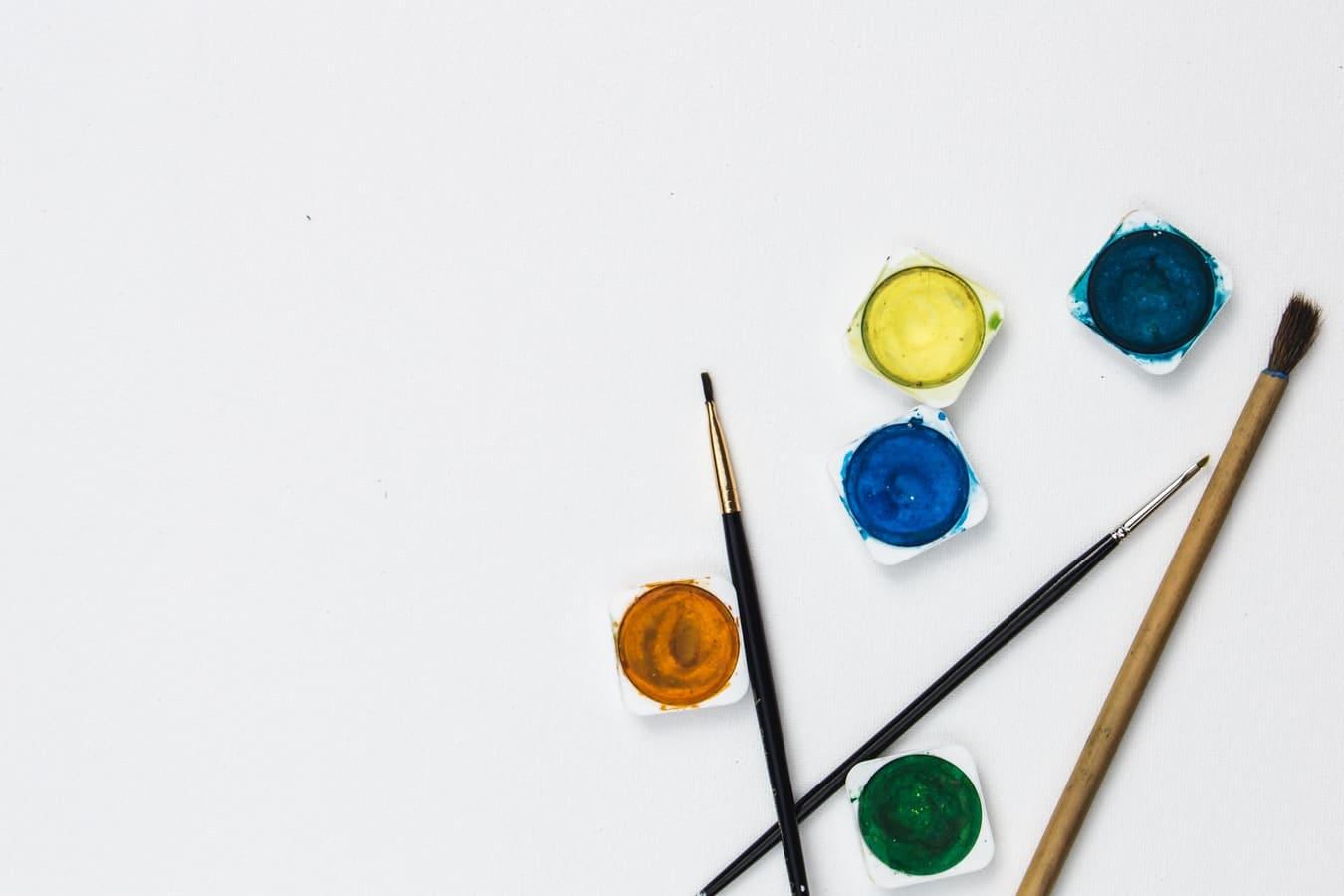 fournitures scolaires zéro déchet peinture naturelle pinceaux
