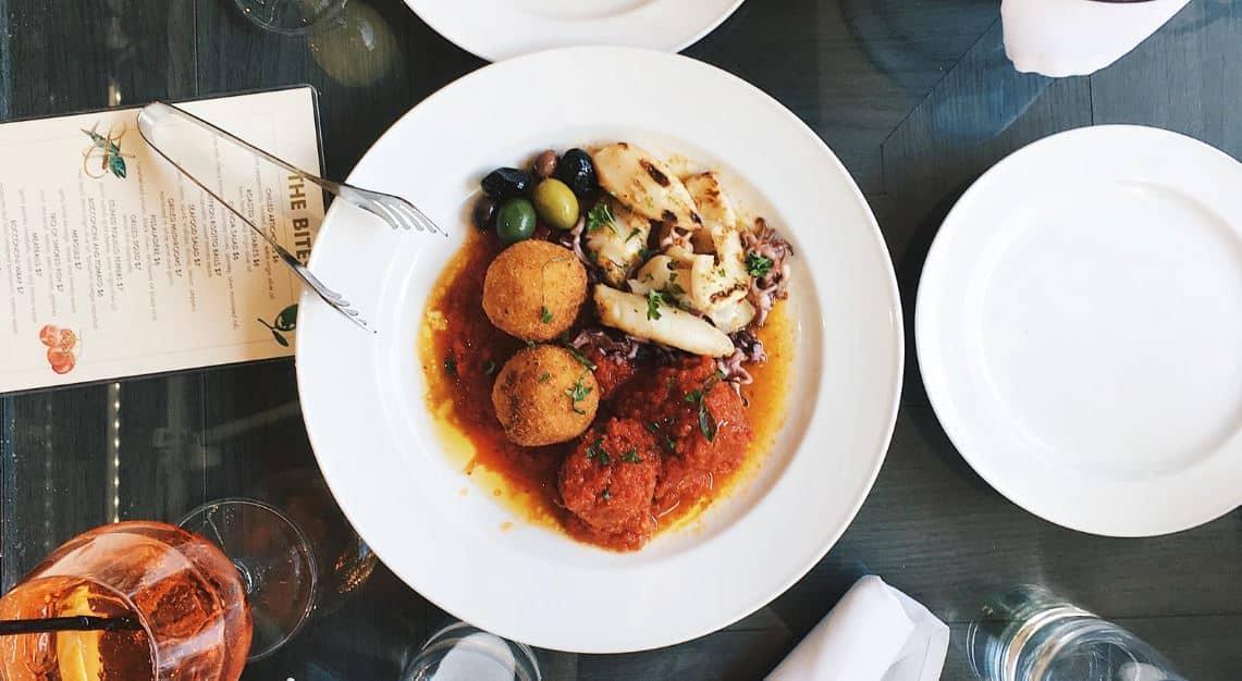 restaurant assiette plat