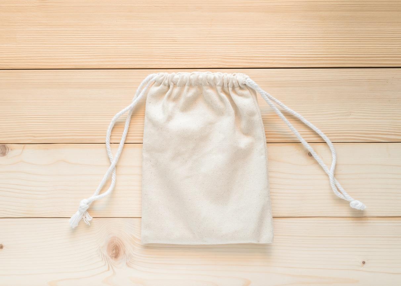 sac à vrac en tissu coton bio zéro déchet