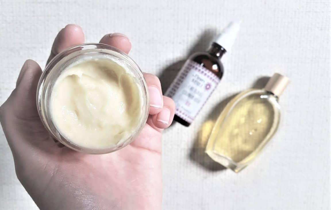 crème corps naturelle maison zéro déchet diy