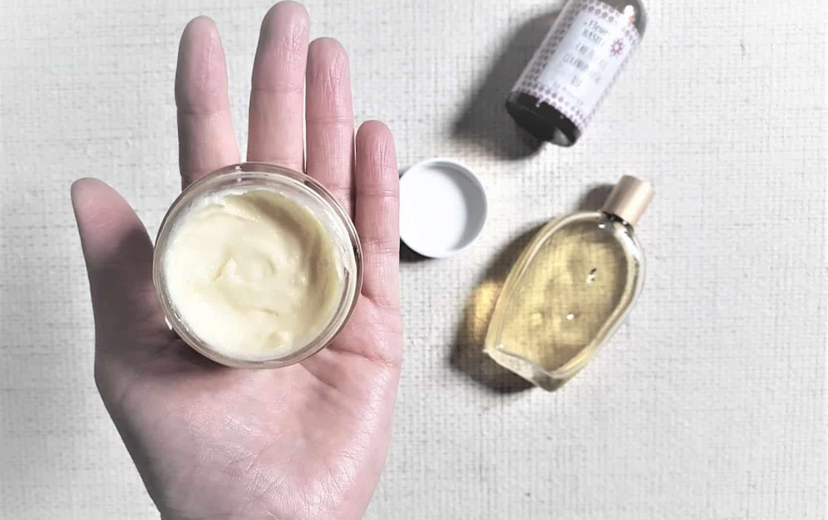 crème pour le corps diy maison naturelle