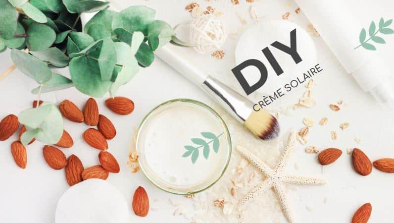 crème solaire maison recette naturelle zéro déchet cosmétique