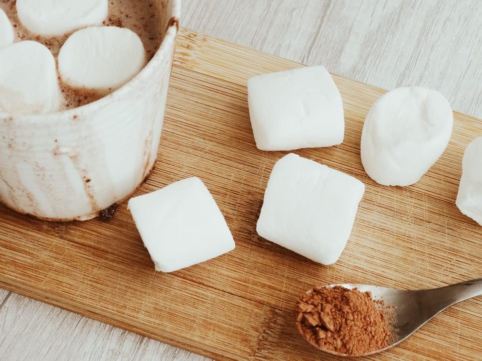 recette marshmallows maison chocolat chaud