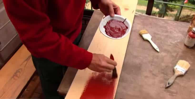 peinture maison naturelle et zéro déchet bois