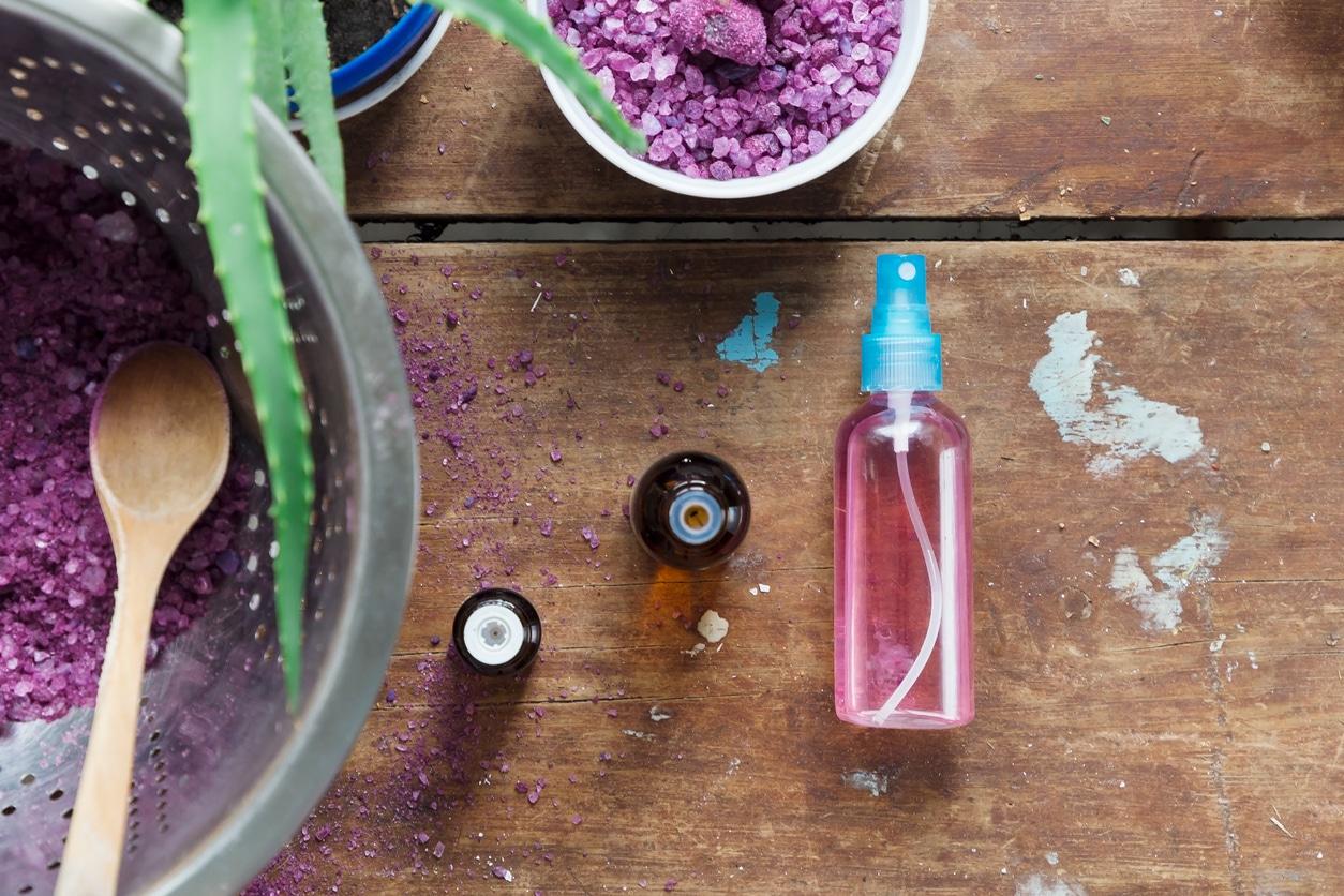 flacon de déo spray recette liquide naturelle zéro déchet