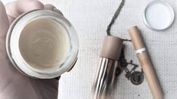 baume lèvres recette DIY zéro déchet