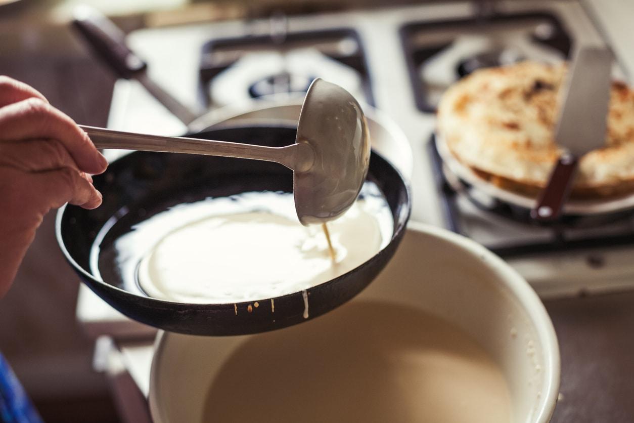 recette de crêpes bretonnes sans lait ni œufs vegan