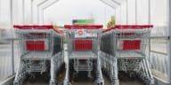 caddies supermarché février sans grande surface