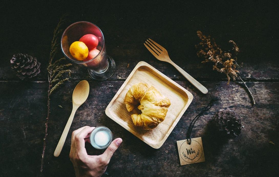 vaisselle en bambou plat manger repas