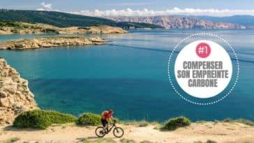 voyage à vélo empreinte carbone