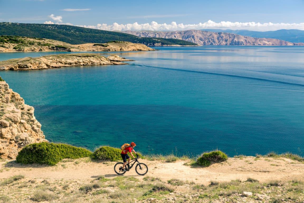 voyage à vélo paysage voyager zéro déchet