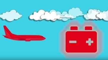 avion électrique batterie moteur vert