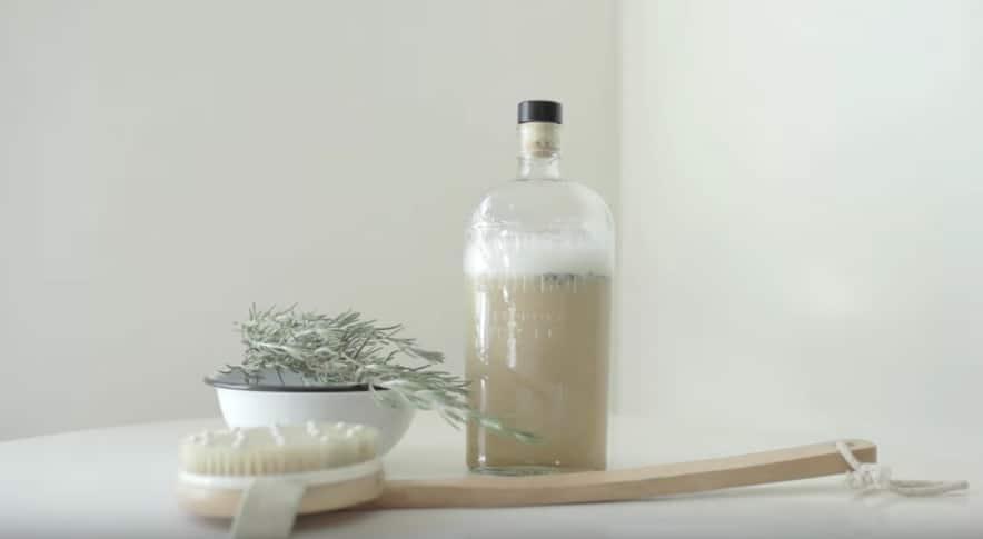 recette de savon liquide mains gel douche naturel
