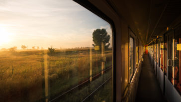 train nuit voyage lever soleil