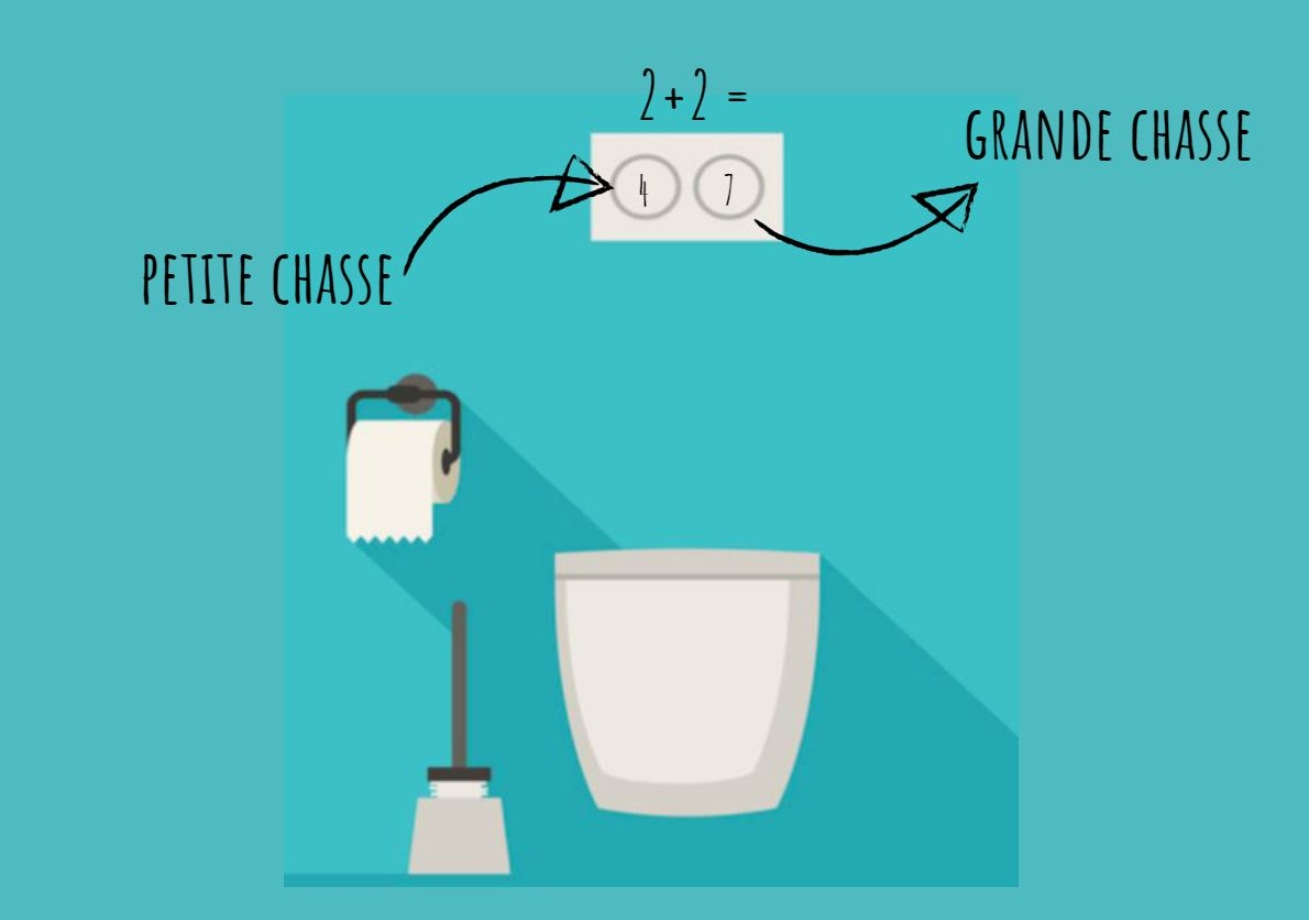 astuce toilette WC économiser eau chasse