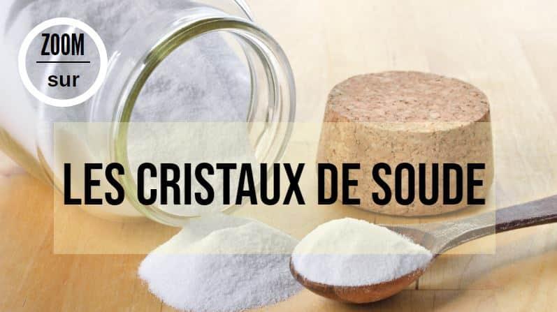 cristaux de soude fiche produit