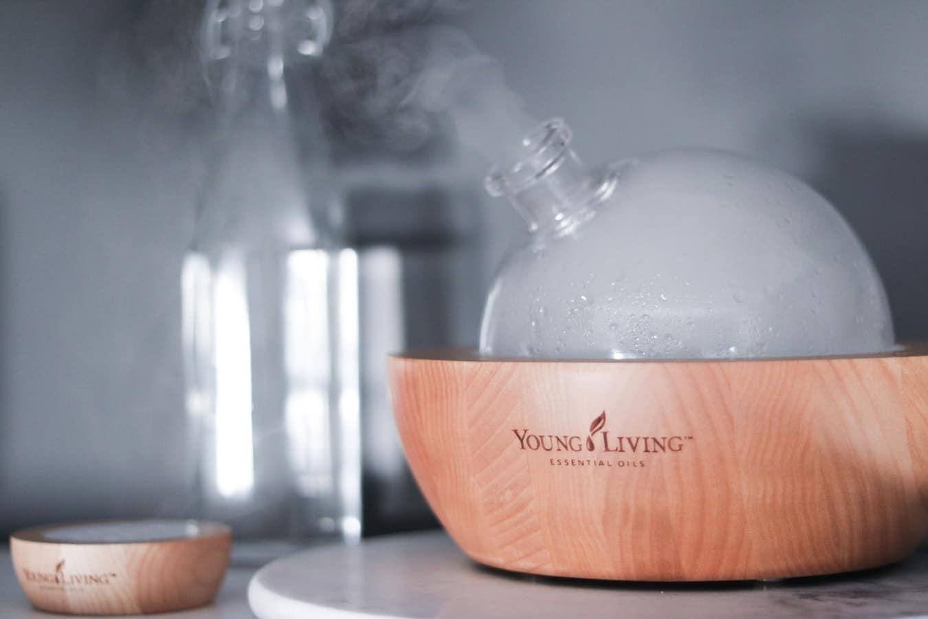 diffuseur huiles essentielles parfum ambiance maison
