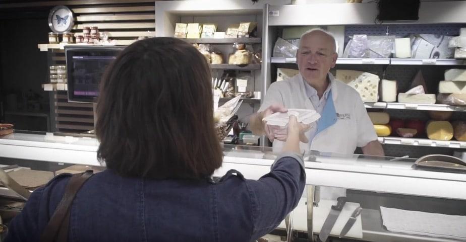 marchand fromages zéro déchet commerçant