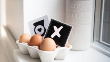 œufs remplacer boite cuisine