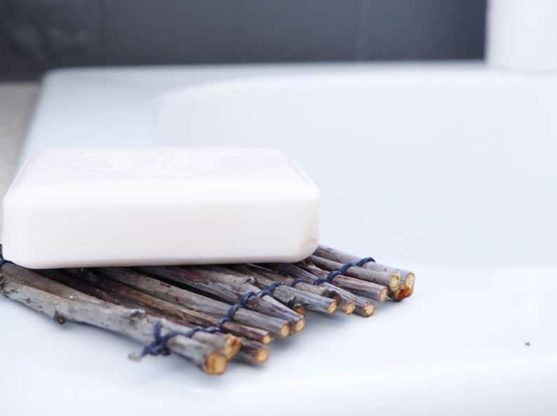 porte savon bois maison diy fabriquer