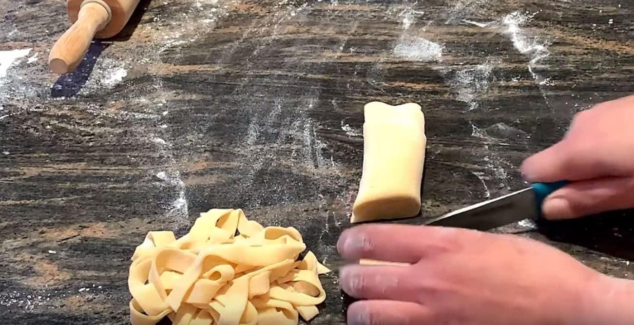 recette de pâtes maison tagliatelles