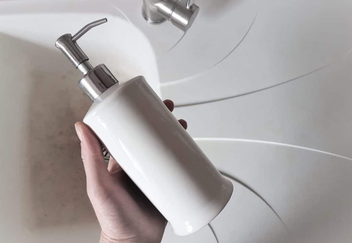 savon mains liquide antibactérien